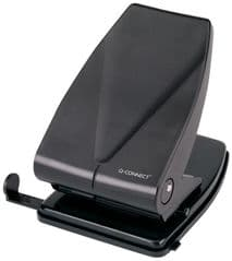 Q CONNECT KF01236  Hole Punch H/Duty Black